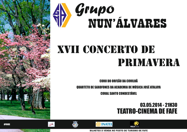 XVII Concerto Coral de Primavera