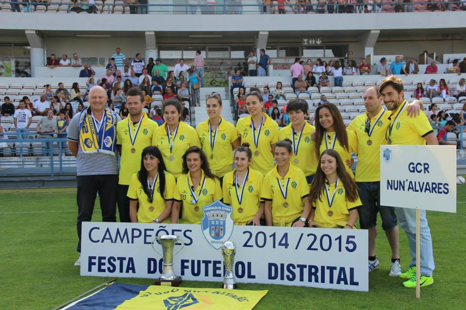 seniores 2014-2015 campeãs