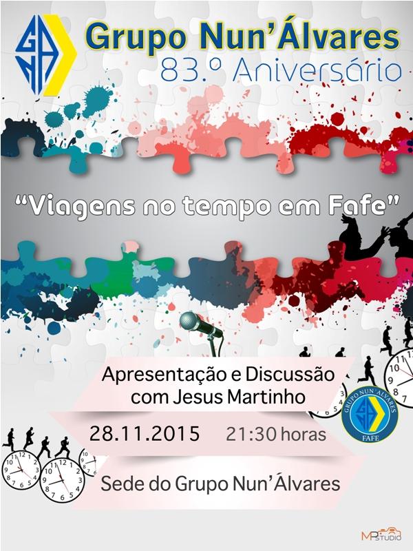 GNA cartaz Jesus Martinho
