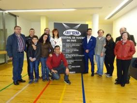 Foto de família no final da Sessão de Abertura do FAFENCENA'16